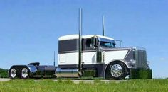 Addicted to everything to do with semi truckin'. Show Trucks, Big Rig Trucks, Old Trucks, Dump Trucks, Peterbilt 359, Peterbilt Trucks, Custom Peterbilt, Custom Big Rigs, Custom Trucks