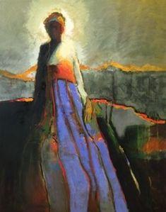 """Josie oil on canvas, 60""""x48"""""""