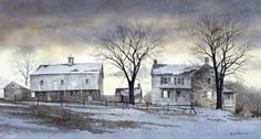 End of the Day Art Print by Ray Hendershot - WorldGallery.co.uk