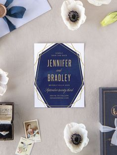 Divinely Modern Wedding Save the Date Cards Foil Save The Dates, Blue Save The Dates, Vintage Save The Dates, Unique Save The Dates, Save The Date Cards, Luxury Wedding Invitations, Elegant Invitations, Wedding Stationary, Unique Weddings