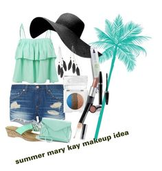 """""""summer fun"""" by djandchelsea on Polyvore featuring beauty, rag & bone, LE3NO, Easy Street, Apt. 9, Charlotte Russe and Mary Kay"""