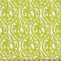 "Premier Prints Kimono Chartreuse/White \\ $8 yard \\ 54"" wide \\\ Medium Weight"