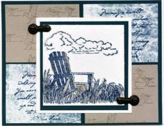 Longing for Summer using Stampin Up Along the Shore
