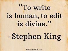 book editing process