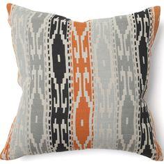 "African Mod Tunisia Print Pillow $55.00 | 18""sq | item# 88526"