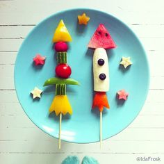 Kids Food inspiration - healthy snacks, Come fly with me!  www.kurbo.com
