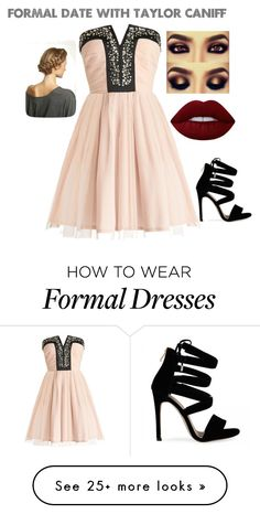 """""""Formal Date w/ Taylor Caniff"""" by imthelifeoftheparty on Polyvore featuring Lime Crime"""