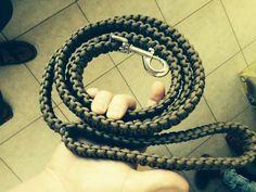 Hondenriem zelf maken van touw.