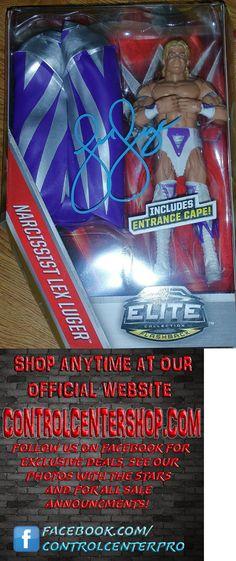 Wrestling 2902: Lex Luger Signed Wwe Mattel Elite Figure, Wwe, Wwf, Wrestlemania, Wcw, Ecw -> BUY IT NOW ONLY: $39.99 on eBay!