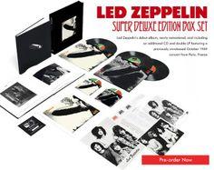 Los tres primeros discos de Led Zeppelin serán remasterizados