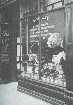 The oldest record shop in the world; Spillers Records of Cardiff.