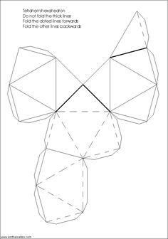 Net tetrahemihexahedron