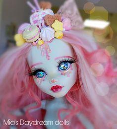 Dolls - ooak doll - monster high doll - repainted doll - Mia's Daydream dolls