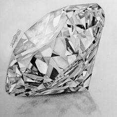 How To Draw A Realistic Diamond To 21 Robust How To Draw A Realistic DiamondHow To Draw A Realistic Diamond 7 Diamond. Diamond Sketch, Diamond Drawing, Diamond Art, Peony Drawing, Drawing Sketches, Pencil Drawings, Art Drawings, Realistic Paintings, Realistic Drawings