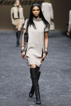 Blumarine | Fall 2011 Ready-to-Wear Collection | Chanel Iman