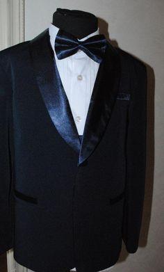 9886f57c9 Dark blue tuxedo for boy