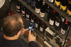 #foto #movil #vino #bodega