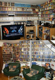 OMG! Wish I had a game room like this!