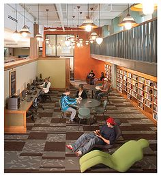 10 Steps to a Better Library Interior: Tips That Don't Have To Cost a Lot   Library by Design