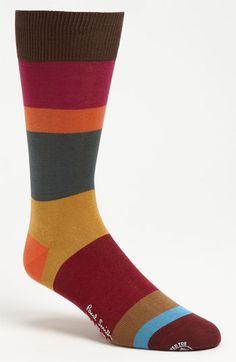 Paul Smith Accessories Multi Block Socks available at Crazy Socks, Cool Socks, Men's Socks, Saddle Shoes, Colorful Socks, Happy Socks, Mens Fall, Mod Fashion, Dress Socks