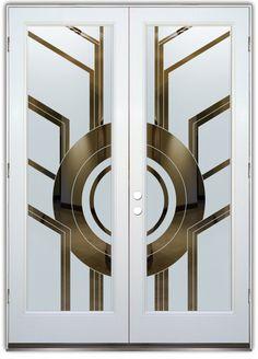 Art deco door, art deco decor ve art deco design. Motif Art Deco, Art Deco Pattern, Art Deco Design, Verre Design, Glass Design, Door Design, Entrance Design, Architecture Maya, Interiores Art Deco