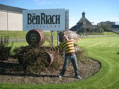 Me at Ben Riach Distillery. Bought a nice bottle but can't remember the details will post later!