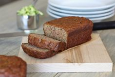 Almond Flour Zucchini Banana Bread by @Against All Grain (Danielle)