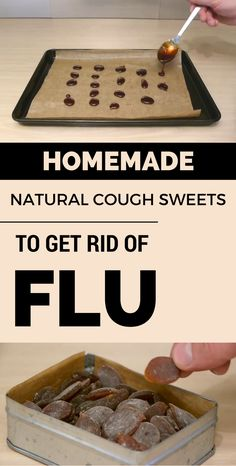 Homemade natural cough sweets to get rid of flu.