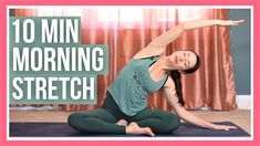 10 min Morning Yoga Full Body Stretch - NO PROPS & ALL LEVELS