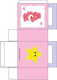 Care Bear Pink Box Favor Box