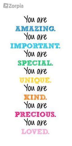 You are.  #Zorpia #Life