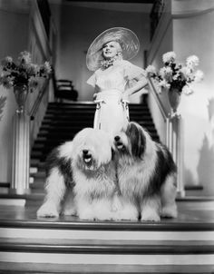Jean Harlow, Bombshell, 1933 (gowns by Adrian)
