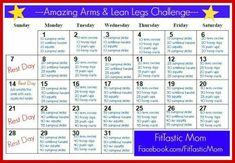 30-day Arm & Lean Leg Challenge