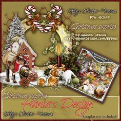 Christmas suprise-cluster-02 [HaniaDesign] - $0.50 : Hanias Design