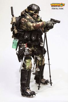 US Mercenary 2.0 Pouch Very Hot Toys 1//6th Scale Action Figure