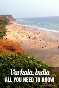 Everything you need to know to travel to Varkala. Kerala Travel, India Travel Guide, Asia Travel, Best Places To Travel, Places To See, Visit India, Kerala India, Travel Destinations, Travel Tips