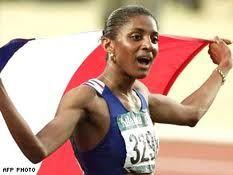 Marie-José Perec, par son palmarès (triple championne olympique), elle est la plus brillante athlète française d'après-guerre.