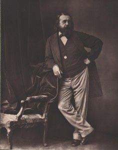Th. Gautier par Bertall, 1860 - droits réservés
