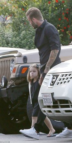 Feeling glum? Harper pushed out her bottom lip as her dad walked her into the Ogo De Chao ...