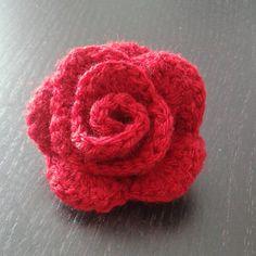 La Rose Au Crochet