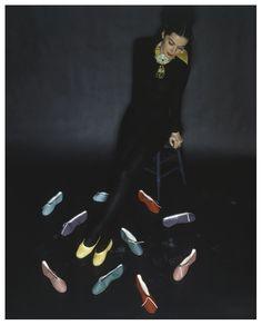 John Rawlings, ballet flats