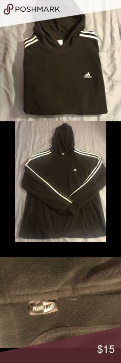 ADDIAS FLEECE CLIMATE BLACK HODDIE 100% authentic. SZ. XL. Msrp $75. Excellent condition. Any questions about this item pls comment. adidas Shirts Sweatshirts & Hoodies
