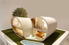 [Concept] Moebius House / Nhà ở đảo Jeju, Hàn Quốc – Planning Korea | KIẾN TRÚC NHÀ NGÓI