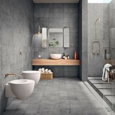 Luxury Bathroom Ideas is very important for your home. Whether you choose the Interior Design Ideas Bathroom or Luxury Bathroom Master Baths Log Cabins, you will create the best Luxury Bathroom Master Baths With Fireplace for your own life. Luxury Master Bathrooms, Contemporary Bathrooms, Modern Bathroom Design, Modern House Design, Contemporary Interior, Bathroom Interior, Bathroom Designs, Master Baths, Shower Designs