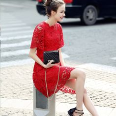Hot sale !2016 new Fashion Summer Lace Women's Dress Hollow Out Long Dresses Women Sexy Slim Dress