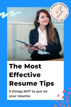 Are you unsure how you can create a resume that stands out? There are many misconceptions and insecurities about the resume writing do's and don'ts which need to be clarified for good.  Check out these five tips to master your job search! 🖥   #badasscareers #resume #resumetips #resumemistakes #jobinterview #jobs #careeradvice #careerplanning Resume Writing Tips, Resume Tips, Career Planning, Career Advice, Artist Resume, Reason For Leaving, Professional References, Effective Resume, Create A Resume