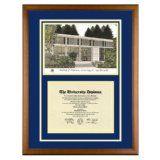 University of California Santa Cruz Diploma Frame with UCSC Art PrintBy Old School Diploma Frame Co.