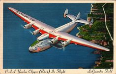 Boeing 314 Yankee Clipper postcard by kitchener.lord, via Flickr