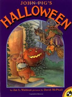 John Pig's Halloween (Picture Puffin Books) by Jan Waldron http://www.amazon.com/dp/0140568360/ref=cm_sw_r_pi_dp_xEmewb10PWJ3Y
