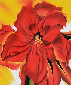 Red Amaryllis 2 - Georgia O'Keeffe